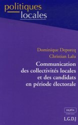 Dernières parutions dans politiques locales, Communication des collectivités locales et des candidats en période électorale