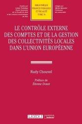 Dernières parutions sur Droit communautaire, Controle externe des comptes et de la gestion des collectivités locales dans UE