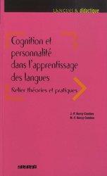 Dernières parutions sur Outils d'enseignement, COGNITION PERSONNALITE APPRENTISSAGE LANGUE