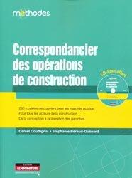 Dernières parutions dans Méthodes, Correspondancier des opérations de construction