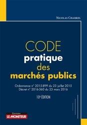 Dernières parutions dans Code, Code pratique des marchés publics 10ED