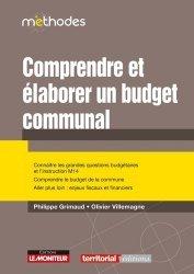 Dernières parutions sur Finances locales, Comprendre et élaborer le budget communal