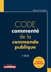Dernières parutions sur Travaux publics, Code commenté de la commande publique