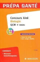Souvent acheté avec Les tests psychotechniques, le Concours kiné Biologie QCM + exos
