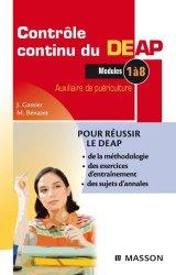 Souvent acheté avec Tests psychotechniques et de personnalité, le Contrôle continu du DEAP Modules 1 à 8