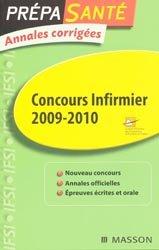 Souvent acheté avec Les tests d'aptitude du concours infirmier, le Concours infirmier 2009/2010