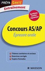 Souvent acheté avec Concours IFSI/AP/Ortho Tests d'aptitude, le Concours AS/AP  Épreuve orale