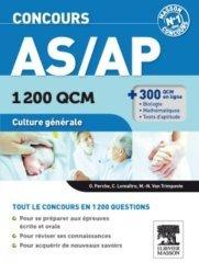 Souvent acheté avec Anatomie & Physiologie du corps humain pour les AS-AP, le Concours AS/AP  1200 QCM Culture générale