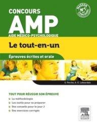 Dernières parutions dans Le tout-en-un Concours, Concours AMP  - Épreuves écrites et orale