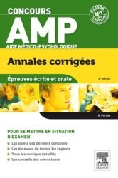 Dernières parutions dans Annales corrigées Concours, Concours AMP - Épreuves écrite et orale