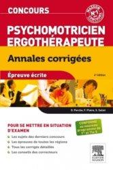 Dernières parutions dans Annales corrigées Concours, Concours Psychomotricien - Ergothérapeute