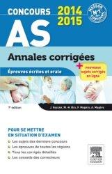 Souvent acheté avec Annales corrigées Concours AP 2014-2015, le Concours AS Annales corrigées