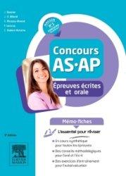 Nouvelle édition Concours AS/AP - Épreuves écrites et orale - Mémo-fiches