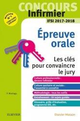 Dernières parutions sur Epreuve orale, Concours Infirmier - Epreuve Orale - IFSI 2017-2018