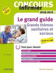 Dernières parutions sur Culture générale, Concours Infirmier - Grands thèmes sanitaires et sociaux - IFSI 2018-2019