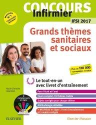 Nouvelle édition Concours Infirmier - Grands thèmes sanitaires et sociaux - IFSI 2017