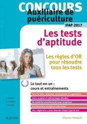 Nouvelle édition Concours Auxiliaire de puériculture - Les tests d'aptitude - IFAP 2017