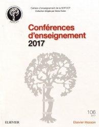 Dernières parutions dans Cahiers d'enseignement de la SOFCOT, Conférences d'enseignement 2017