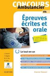 Dernières parutions sur Ambulancier, Concours Ambulancier - Écrit et oral - Le tout-en-un