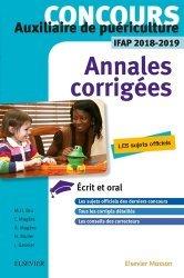 Dernières parutions dans Annales corrigées Concours, Concours Auxiliaire de puériculture - Annales corrigées - IFAP 2018 2019