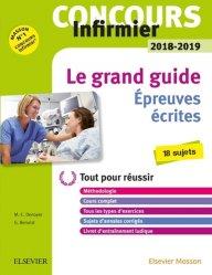 Dernières parutions sur Les intégrales, Concours Infirmier 2018-2019 - Epreuves écrites
