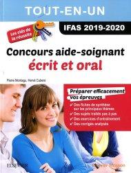 Dernières parutions sur Concours d'entrée en IFSI, Concours Aide-Soignant 2019/2020 Tout-en-un : écrit et oral