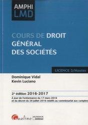 Dernières parutions dans Amphi LMD, Cours de droit général des sociétés. 2e édition