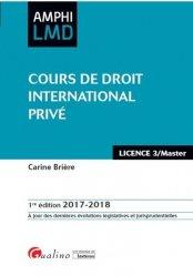 Dernières parutions dans Amphi LMD, Cours de droit international privé