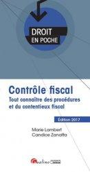 Dernières parutions dans Droit en poche, Contrôle fiscal. Tout connaître des procédures et du contentieux fiscal, Edition 2017