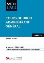Dernières parutions sur Droit administratif général, Cours de droit administratif général. 4e édition