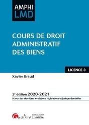 Dernières parutions sur Droit administratif général, Cours de droit administratif des biens. 2e édition