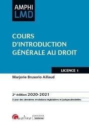 Dernières parutions sur Introduction historique au droit, Cours d'introduction générale au droit. 2e édition
