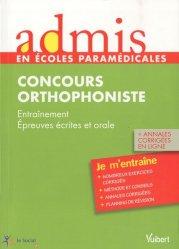 Souvent acheté avec Dictées et textes à corriger, le Concours Orthophoniste
