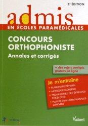 Souvent acheté avec Lecture et dyslexie, le Concours Orthophoniste