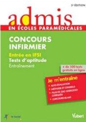 Nouvelle édition Concours infirmier - Tests d'aptitude