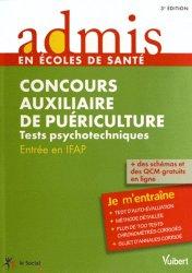 Souvent acheté avec Tests d'aptitude - Épreuve orale 2013, le Concours auxiliaire de puériculture