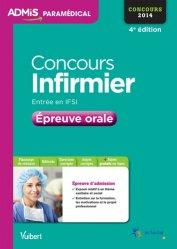 Souvent acheté avec Concours infirmier, le Concours Infirmier - Épreuve orale 2014