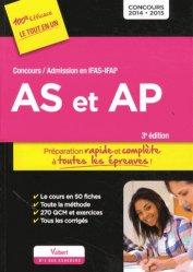 Dernières parutions sur Tout-en-un, Concours AS et AP