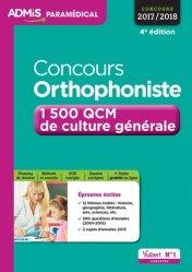 Souvent acheté avec Les épreuves de français au concours d'orthophonie, le Concours orthophoniste