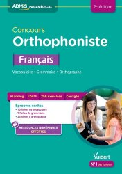 Nouvelle édition Concours Orthophoniste - Français