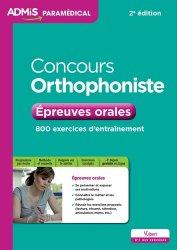 Nouvelle édition Concours Orthophoniste - Epreuves orales