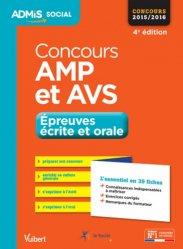 Souvent acheté avec AVS-AMP - Concours 2015-2016, le Concours AMP et AVS en 39 fiches