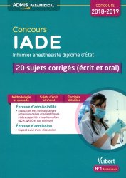 Souvent acheté avec Concours IADE en fiches mémos, le Concours IADE 2018