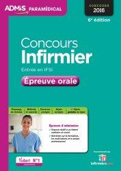 Nouvelle édition Concours Infirmier - Épreuve orale 2016