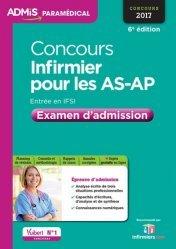 Souvent acheté avec IFSI Spécial AS/AP - Examen 2017, le Concours Infirmier pour les AS-AP - Entrée en IFSI - Examen d'admission - Entraînement