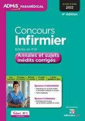 Souvent acheté avec 30 fiches d actualite sanitaire et sociale pour le concours infirmier, le Concours Infirmier - Entrée en IFSI 2017