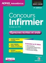 Dernières parutions dans Admis paramédical, Concours Infirmier - Épreuves écrites et orale