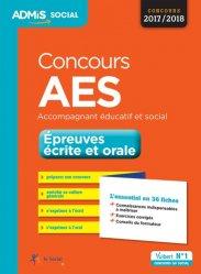 Dernières parutions sur Entrée en école de travail social, Concours AES - Épreuves écrite et orale