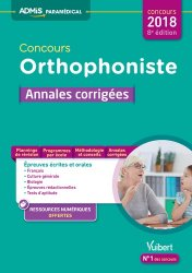 Concours orthophoniste 2018