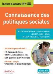 Dernières parutions sur Politiques sociales, Connaissance des politiques sociales : examens et concours 2019-2020